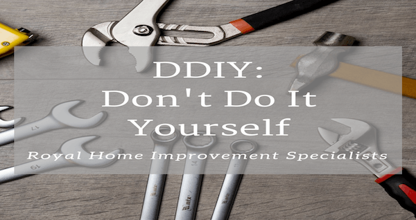 DDIY: Dont't Do it Yourself