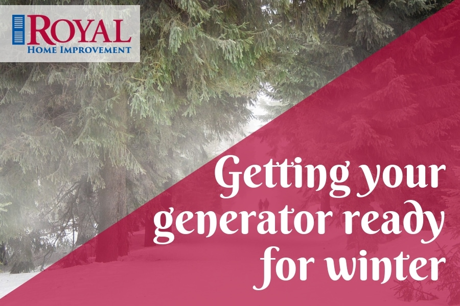 Getting Your Generator Ready For Winter