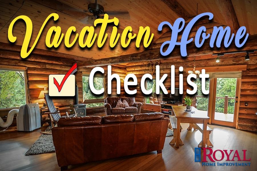Pre-Vacation Checklist