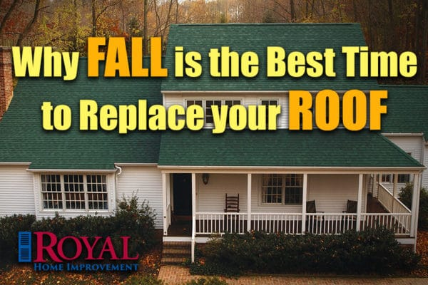 Fall is the Best Season to Replace Your Roof