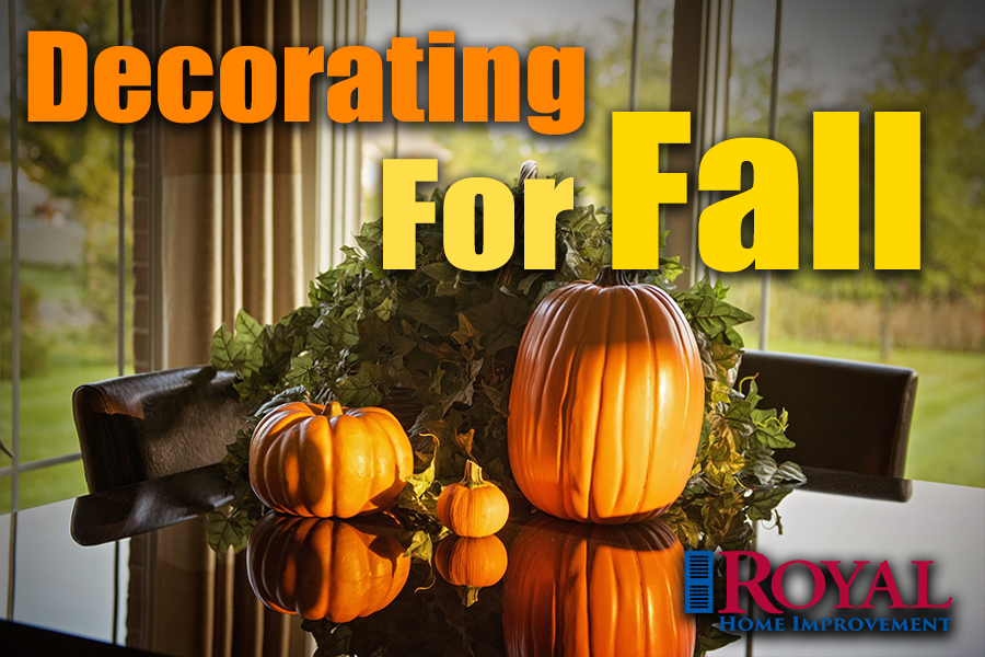 Decorating for Fall